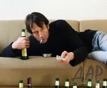 фото человека в алкогольном запое